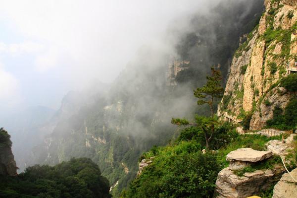 白石山景点图片
